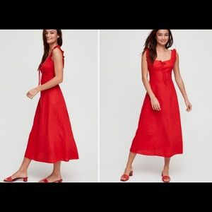 Wilfred annabelle dress sz 2 in red